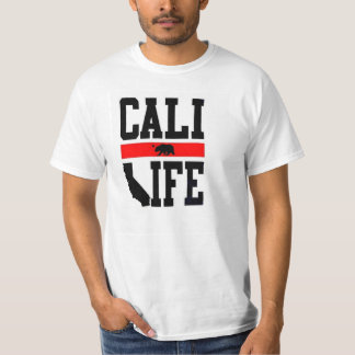 liv fullvuxna Kalifornien för Kalifornien T Shirt