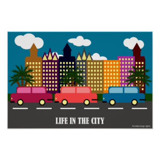 Liv i staden poster