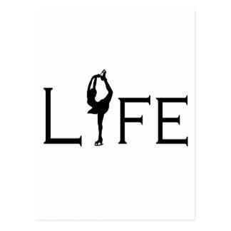 LIV (konståkare) Vykort