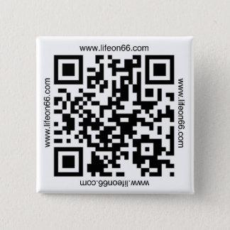 Liv på 66 knäppas (QR kodifierar), Standard Kanpp Fyrkantig 5.1 Cm