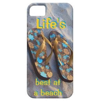 Liv som är bäst på flinflip flops för en iPhone 5 cases