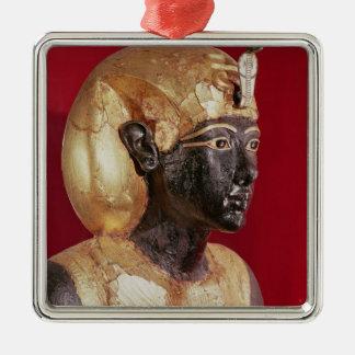 Liv - storlek staty av Tutankhamun Julgransprydnad Metall