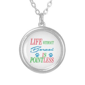 Liv utan borzoien är pointless anpassningsbara smycken