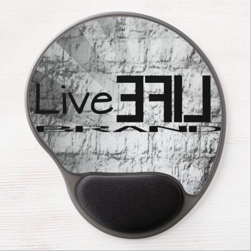 LiveLife brännmärker gelen Mousepad Gelé Mus-mattor