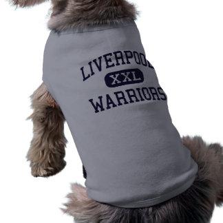 Liverpool - krigare - kick - Liverpool New York Långärmad Hundtöja