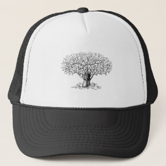 Livets träd - djur keps