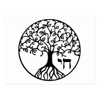 Livets träd med CHAI Vykort