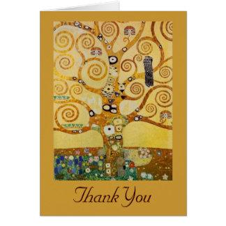Livets träd vid Klimt Kort