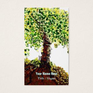 Livets träd visitkort