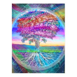 Livets träd vykort