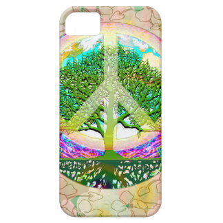 Livets trädvärldsfred iPhone 5 cover