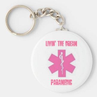 Livin drömmen - sjukvårdare rund nyckelring
