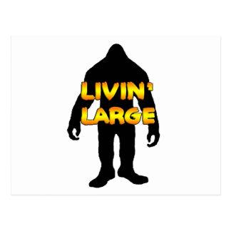Livin stora Bigfoot Vykort
