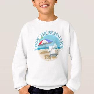 Livin strandlivet tee shirt