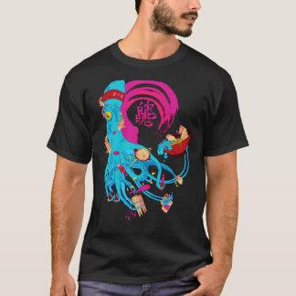 Livlig Tofutioarmad bläckfisk T Shirts
