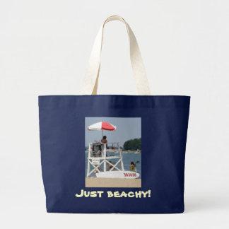 Livräddarestrandjumbo Beachbag Jumbo Tygkasse