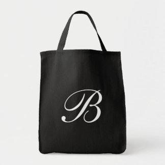 Livsmedeltoto för Monogram B <Black> Tygkasse