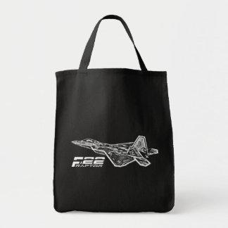Livsmedeltoto för ROVFÅGEL F-22 Tygkasse
