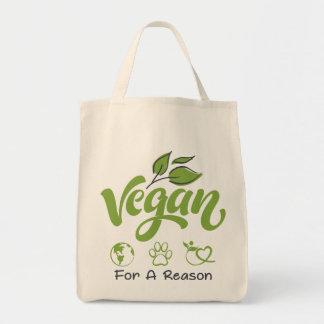 Livsmedeltotot hänger lös designat för Vegans Tygkasse