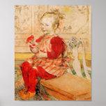 Lizbeth innehav en docka poster