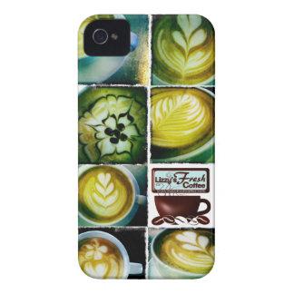 Lizzys kaffe behandla som ett barn fodral för iPhone 4 skydd