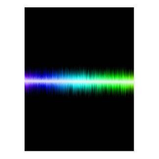 Ljudvågardesign Vykort