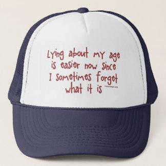 Ljuga om min ålder keps