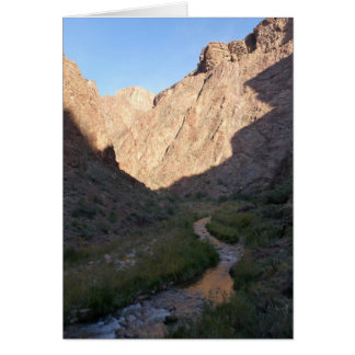 Ljus ängelbäck, grand Canyon Hälsningskort