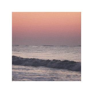 Ljus ~ Atlantic Ocean för första morgon Canvastryck
