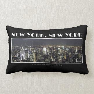 Ljus av New York City kudder Lumbarkudde