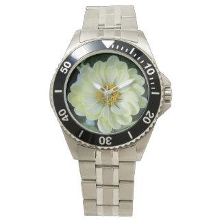 Ljus Dahlia - gul blomma Armbandsur