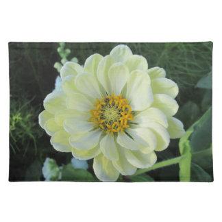 Ljus Dahlia - gul blomma Bordstablett