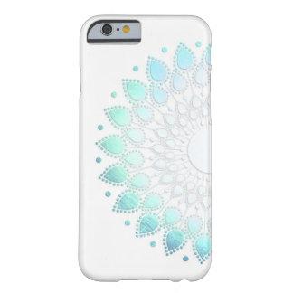 Ljus elegant - motiv för blåttgröntblomma barely there iPhone 6 skal