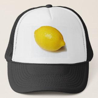 Ljus gul citron keps