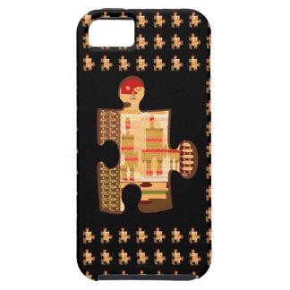 Ljus guld- gnistraQUIZKONST - alla eleganta GÅVOR iPhone 5 Skydd