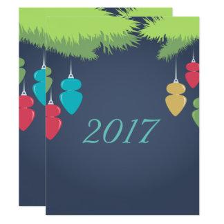 Ljus julkort 10,8 x 14 cm inbjudningskort