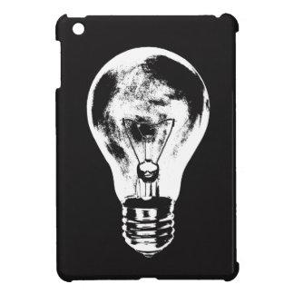 Ljus kula för svart & för vit - fodral iPad mini mobil skydd