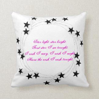 Ljus ljus stjärna för stjärna kudde