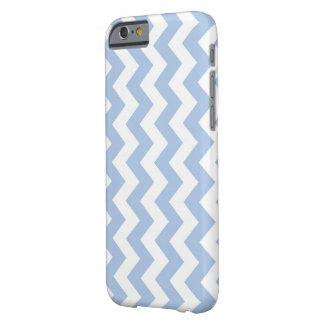 Ljus lodrät - blått- och vitsicksack barely there iPhone 6 fodral