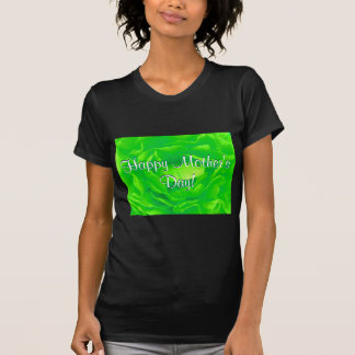 Ljus lycklig mors dag - gröntro mig t shirt