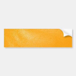 Ljus orange läderLook Bildekal