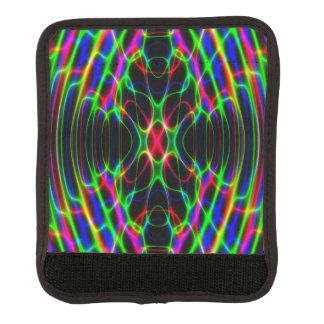 Ljus Psychedelic abstrakt för neonlaser Handtagsskydd