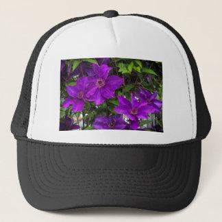 Ljus purpurfärgad Jackmanii ClematisVine Keps