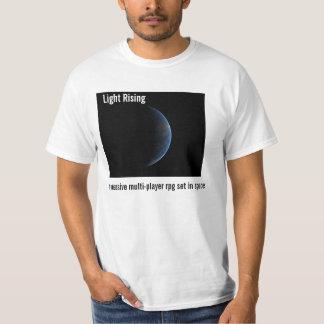 Ljus resning - uppstigning (vit) t-shirts