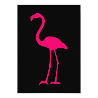 Ljus rosa Flamingo 12,7 X 17,8 Cm Inbjudningskort