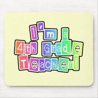 Ljusa färger 4th klasslärare musmatta