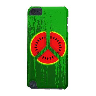 Ljusa färger för rolig vattenmelonfred iPod touch 5G fodral