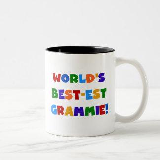 Ljusa färger världs Bäst-est Grammie gåvor Två-Tonad Mugg