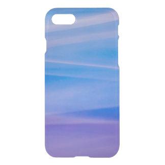 Ljusa slingor för målningabstraktfärg iPhone 7 skal