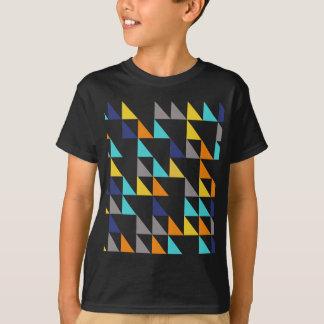 Ljusa trianglar t shirt